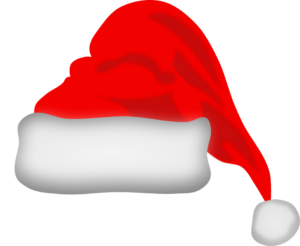17384-illustration-of-a-red-santa-hat-pv